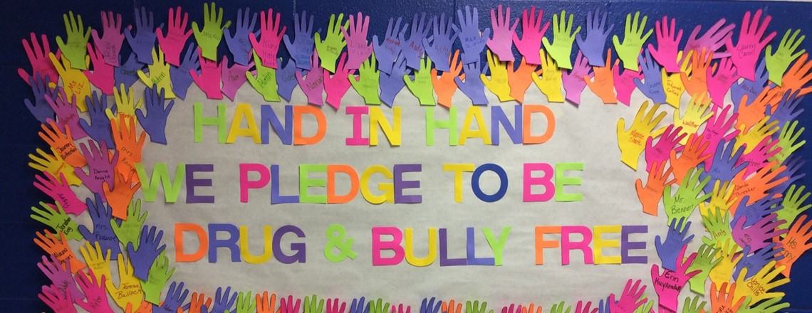 Pledge to Be Drug & Bully Free!!!