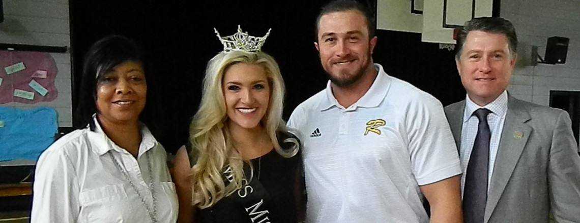 Mrs. Bennett and Mr. Horn with Miss Mississippi and Mr. Jody Steverson!