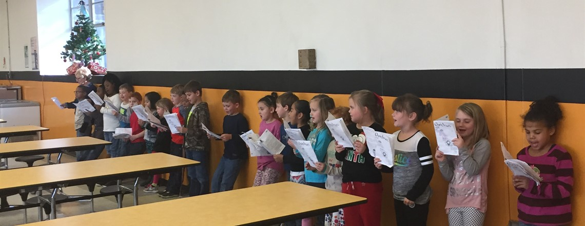 RES Christmas Carolers!