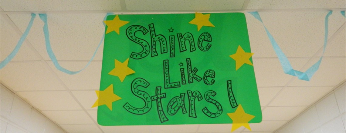 Our students will shine like stars!