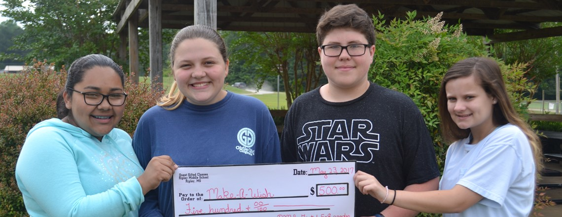 Gifted Business Day donates to Ms. Make a Wish Foundation