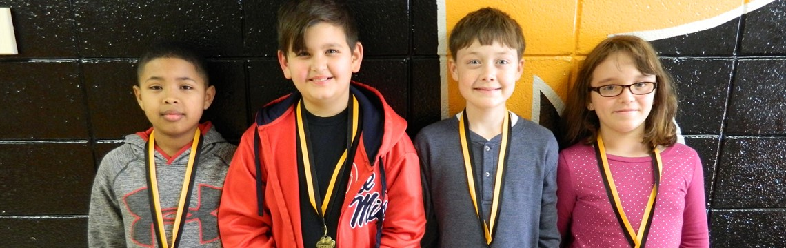 Fourth Grade Science Fair Winners!