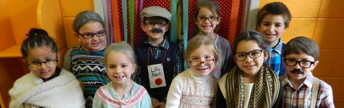 100th  Day of School at RES