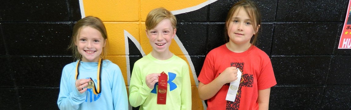 4th Grade Fiction Reading Fair Winners!