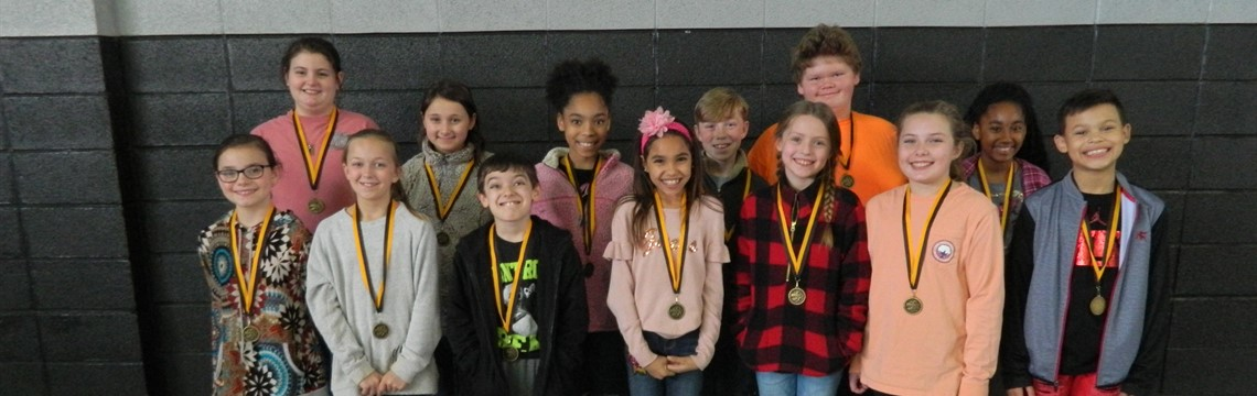 Congrats to the First Place Fourth Grade Science Fair Winners!