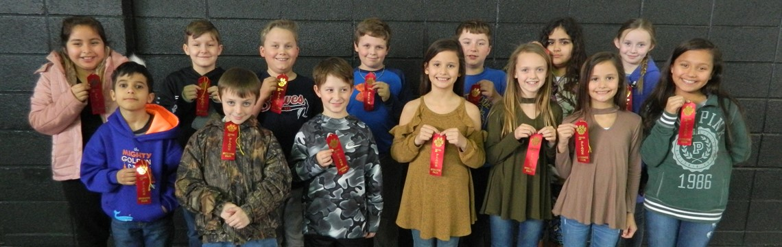 Congrats to the Second Place Fourth Grade Science Fair Winners!