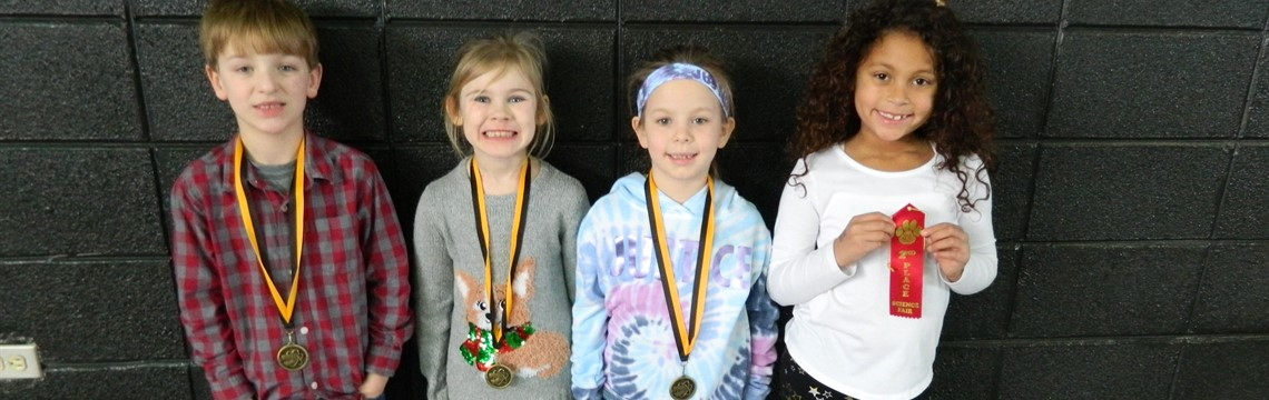 First Grade Science Fair Winners! Congrats!