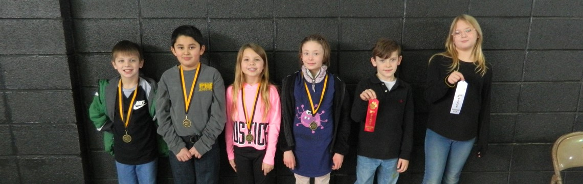 Third Grade Science Fair Winners! Congrats!