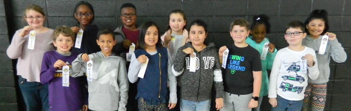 Congrats to the Third Place Fourth Grade Science Fair Winners!