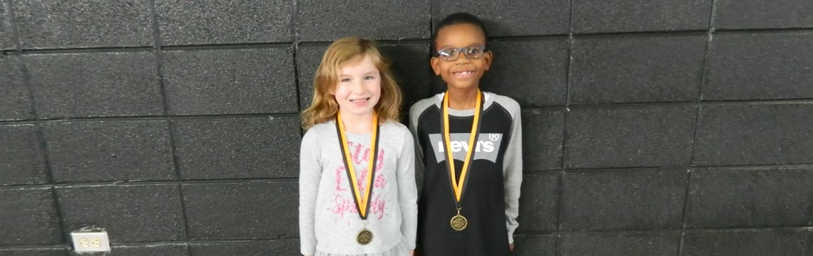 Second Grade Science Fair Winners! Congrats!