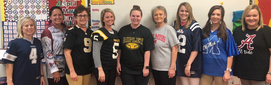 Jersey Day for HOCO Week!