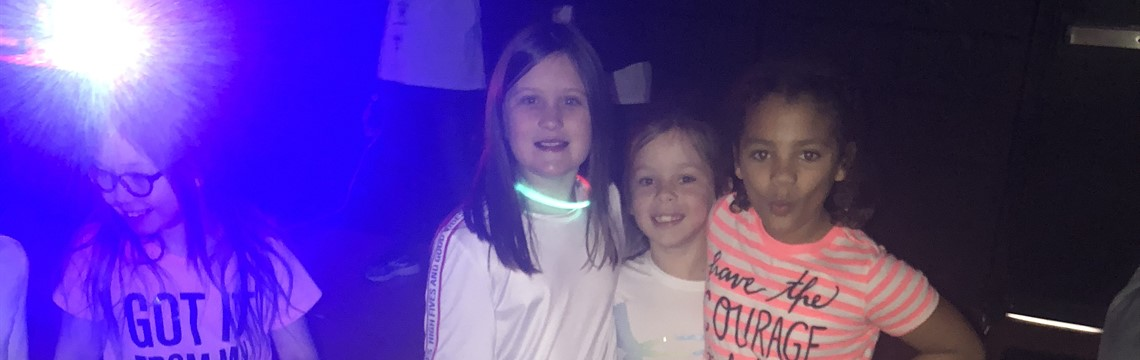 Fun at the Glow Party!