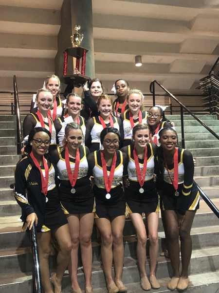 RHS Pom wins 2nd Place at State Competition