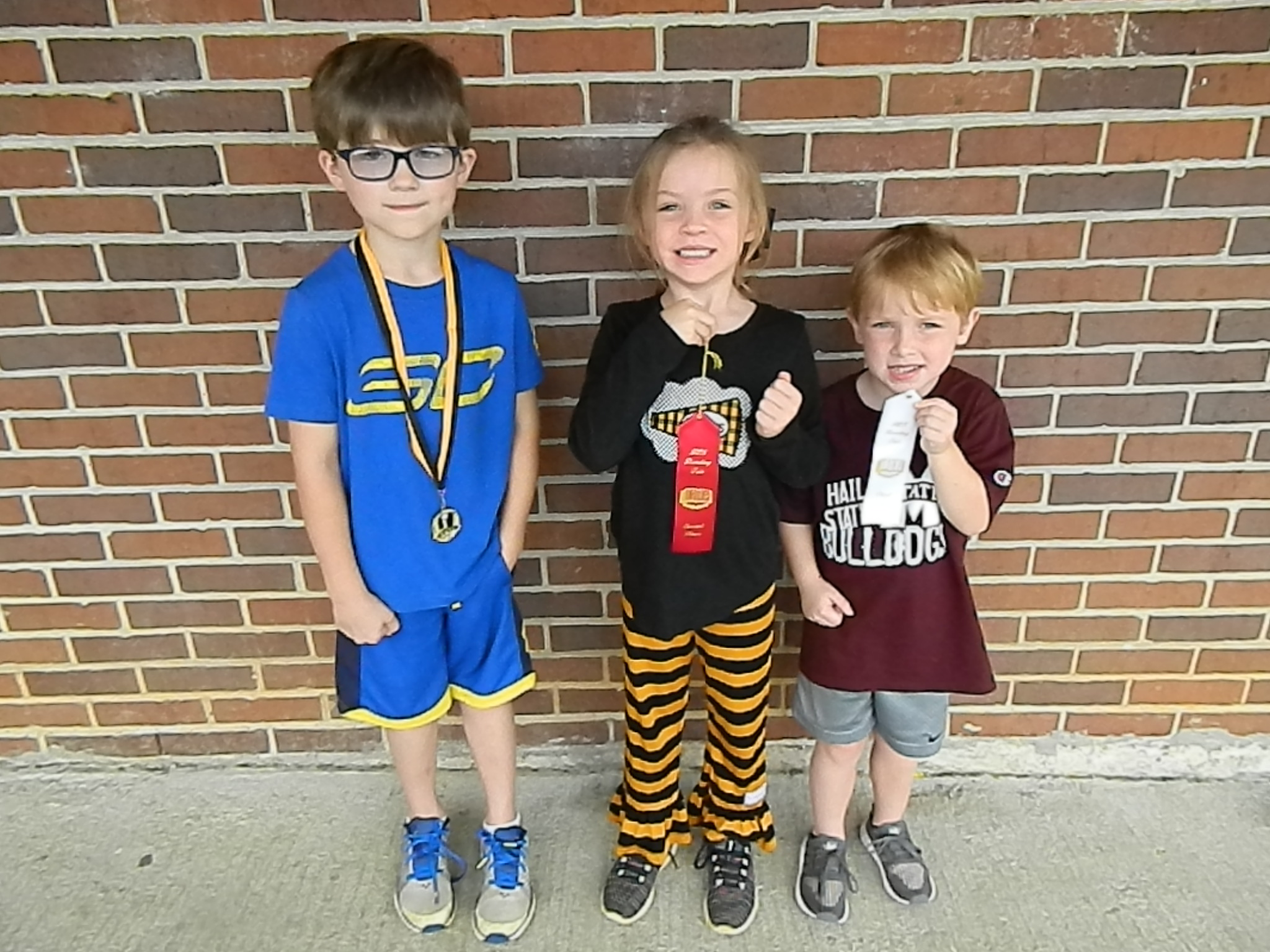 Kindergarten Reading Fair Winners