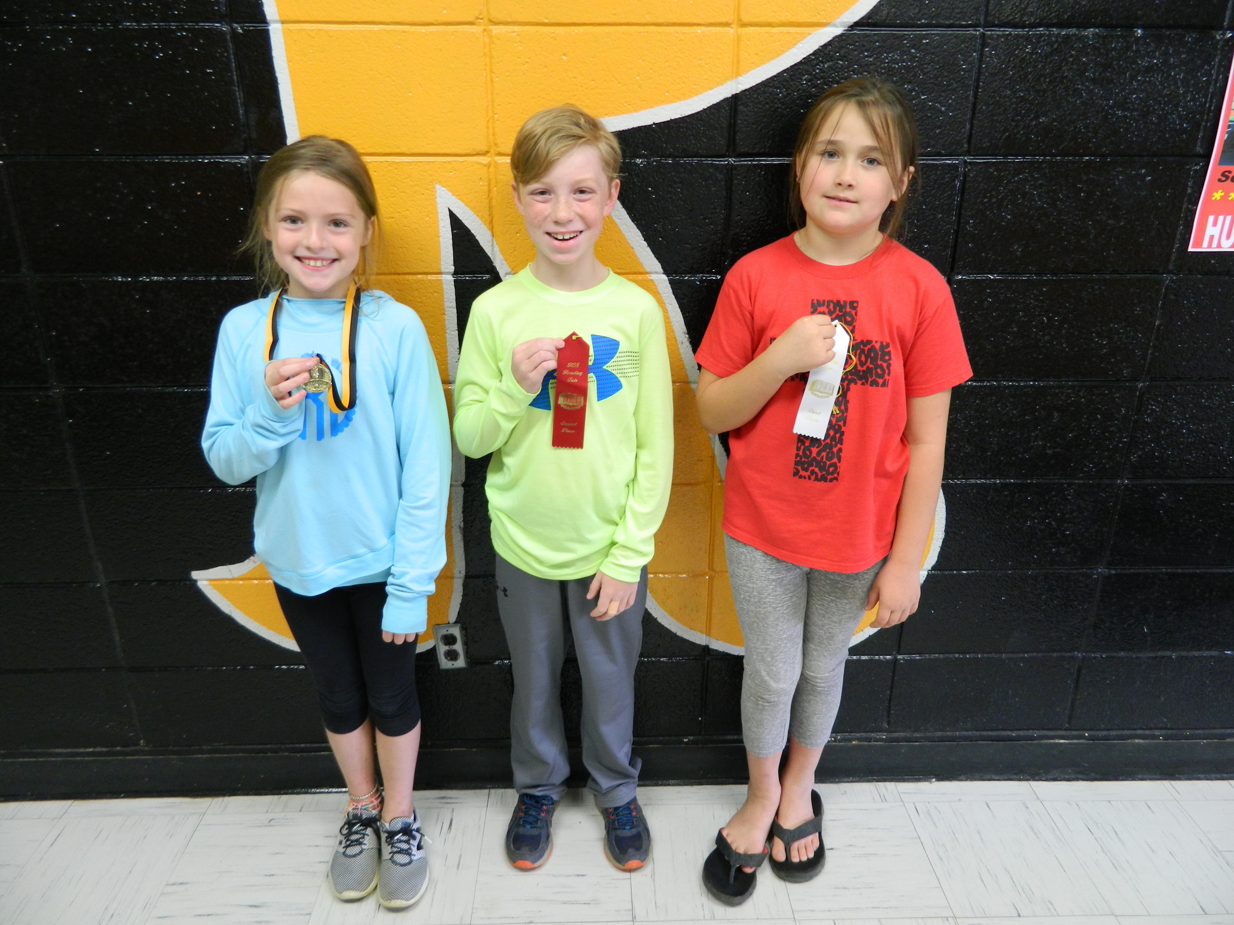 Fourth Grade Reading Fair Winners
