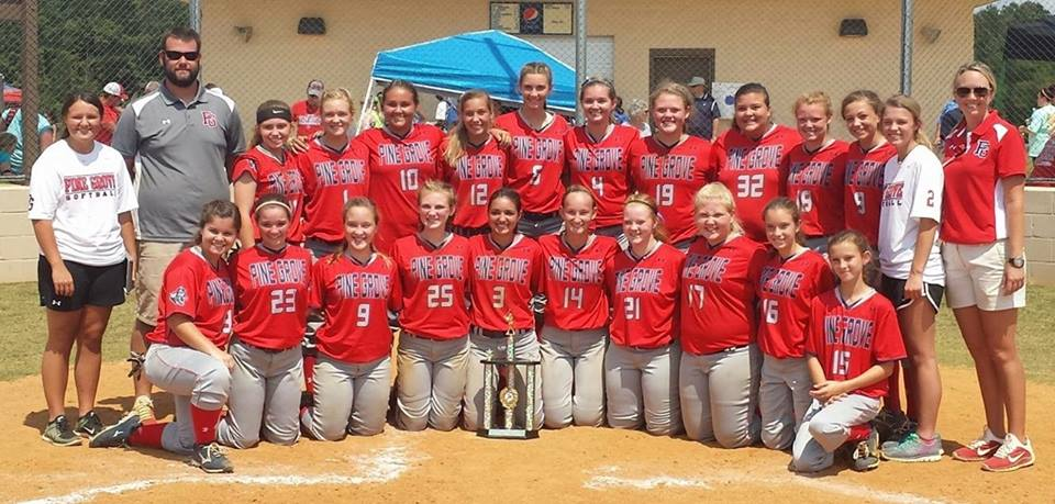 Slow Pitch Tippah County Champs